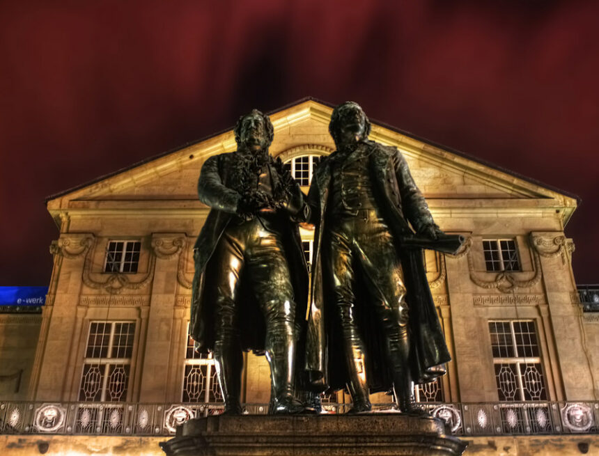 """La """"cura"""" en Goethe y Heidegger"""